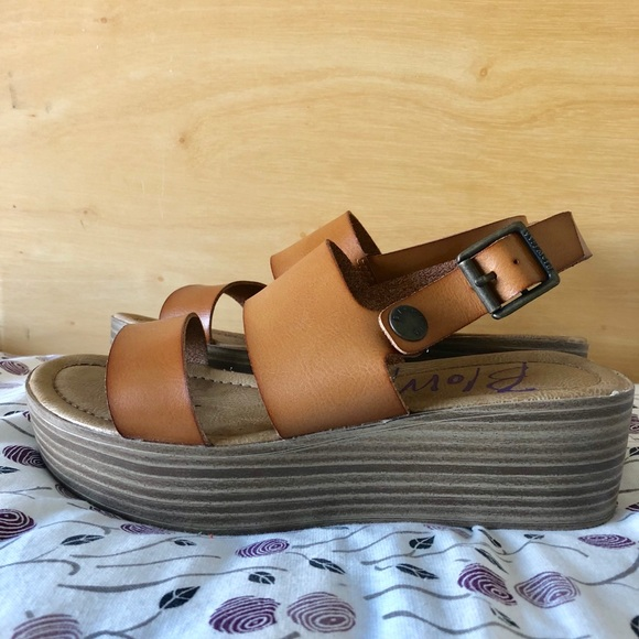 134f21eaf026 Blowfish Shoes - Blowfish Lola platform sandals. Genuine leather.